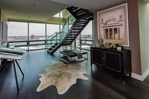 FSC White Oak Graywash T_G Engineered Flooring