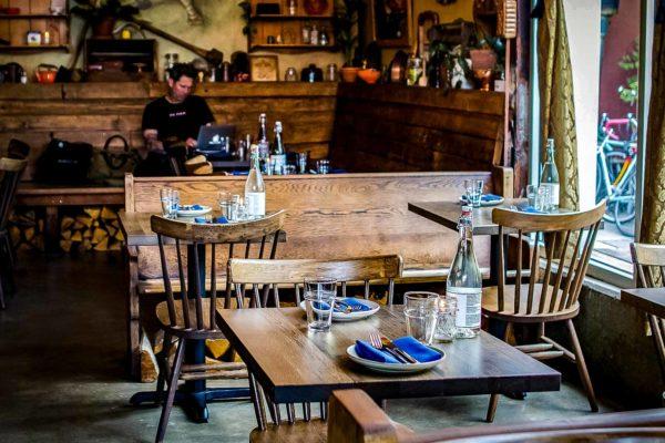 FSC White Oak Vintage Restaurant Tables (1)