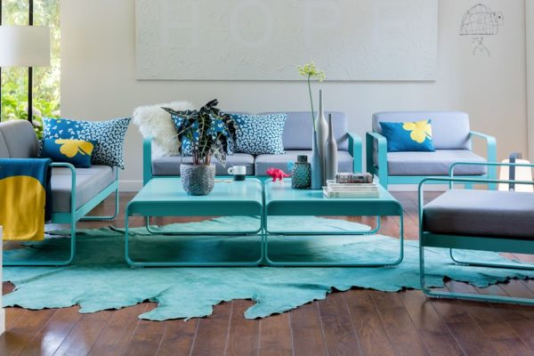 Fermob+-+Bellevie+sofa+and+armchair
