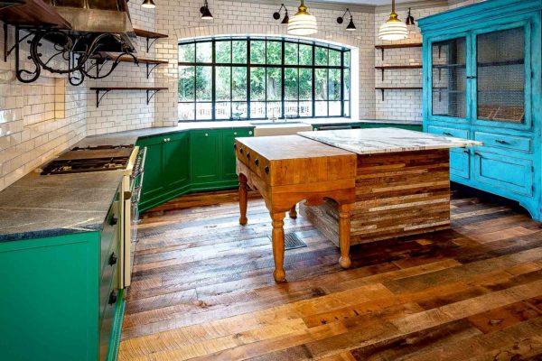 Reclaimed Antique Barnwood T_G Flooring 1