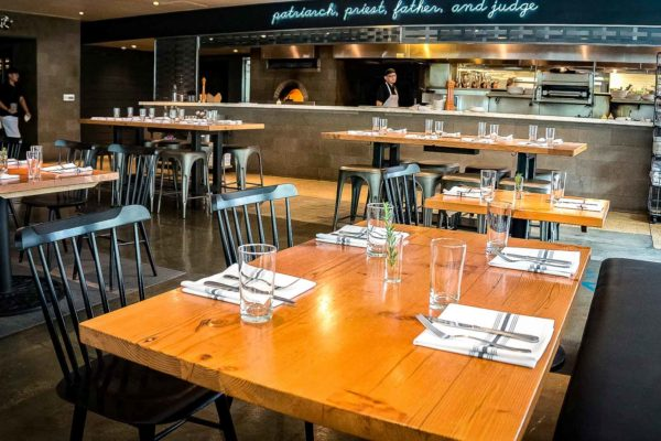 Reclaimed Douglas Fir Restaurant Tables (1)